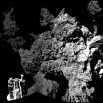 Bienvenue sur la comète