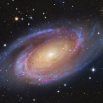 La brillante galaxie spirale M81
