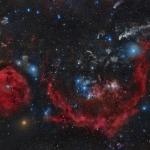 Les nuages d'Orion le chasseur