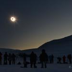 Eclipse boréale d'équinoxe