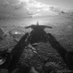 L'ombre d'un robot martien