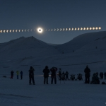 Eclipse totale sur le Svalbard