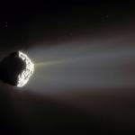 La comète Churyumov Gerasimenko dégaze