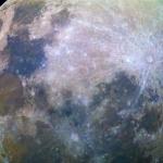 La Lune bleue et l'ISS