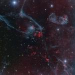 Le r�manent de supernova Puppis A