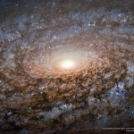 Au coeur de NGC 3521
