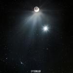 La com�te Catalina rencontre V�nus et la Lune