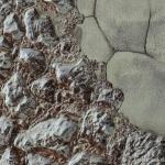 Entre plaines et montagnes sur Pluton