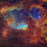Etoiles massives dans NGC 6357