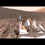 Curiosity et la dune Namib