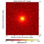 La Lune gamma de Fermi