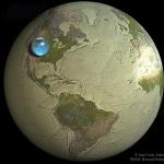 Toute l'eau de la Terre