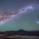 Galaxies sur l'Altiplano chilien