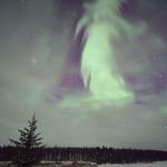 Aurore fantomatique sur le Canada