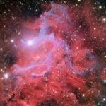 La nébuleuse de l'étoile flamboyante