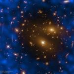 Le gaz d'un amas de galaxies parasite le fond diffus cosmologique
