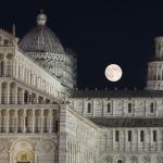 Lune de Tonnerre sur Pise