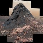 La colline de Ireson sur Mars