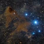 La nébuleuse sombre 183 de Lynds