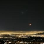 Un ciel souriant au-dessus de Los Angeles