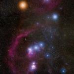 Orion, constellation photogénique