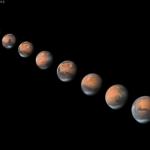 Mars à l'approche