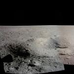 Panorama du site d'atterrissage d'Apollo 11