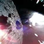Le Rover 1A sautille sur l'astéroïde Ryugu