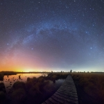 La Voie Lactée, de l'été à l'hiver