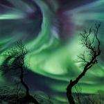 Aurore polaire géante en Norvège
