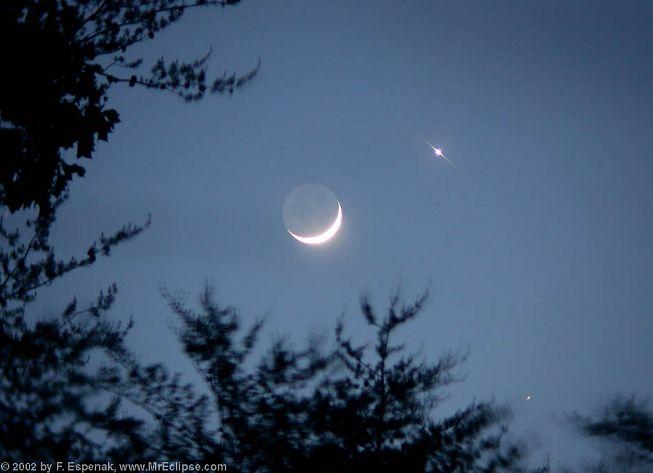 Etoile pr s de la lune question d 39 astronomie for Jardin et la lune