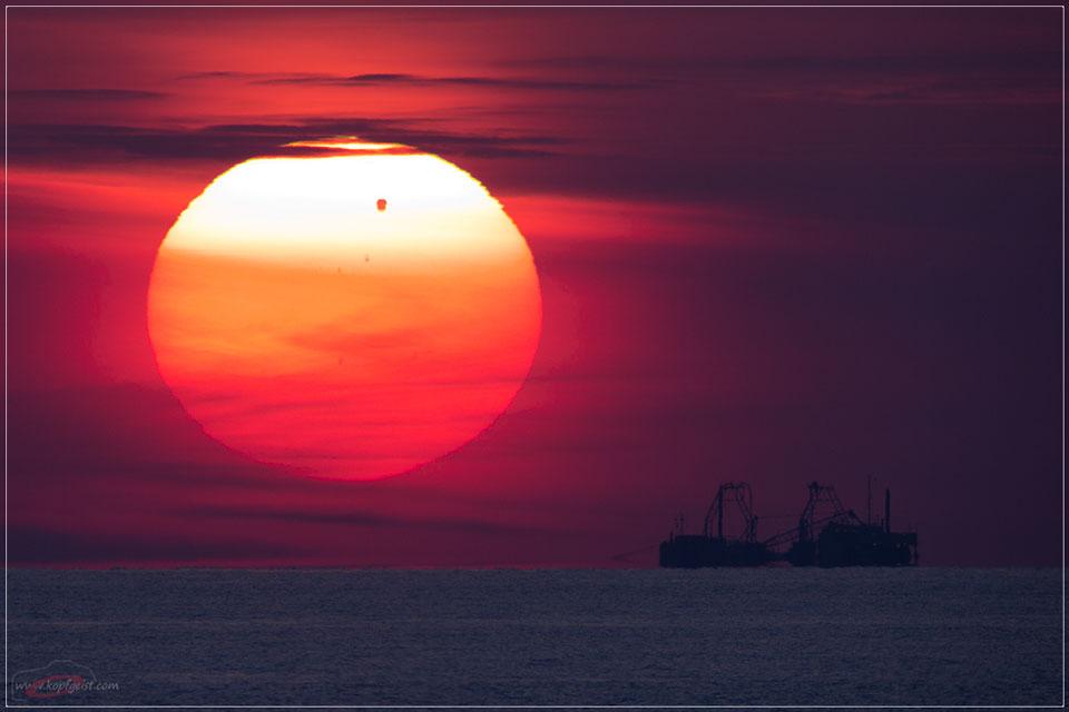 Sebuah Venus Transit Lebih dari Laut Baltik