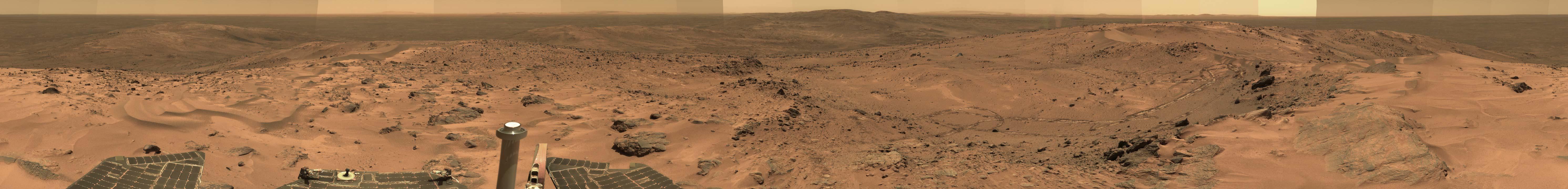 Un petit tour sur la planère Mars 131208