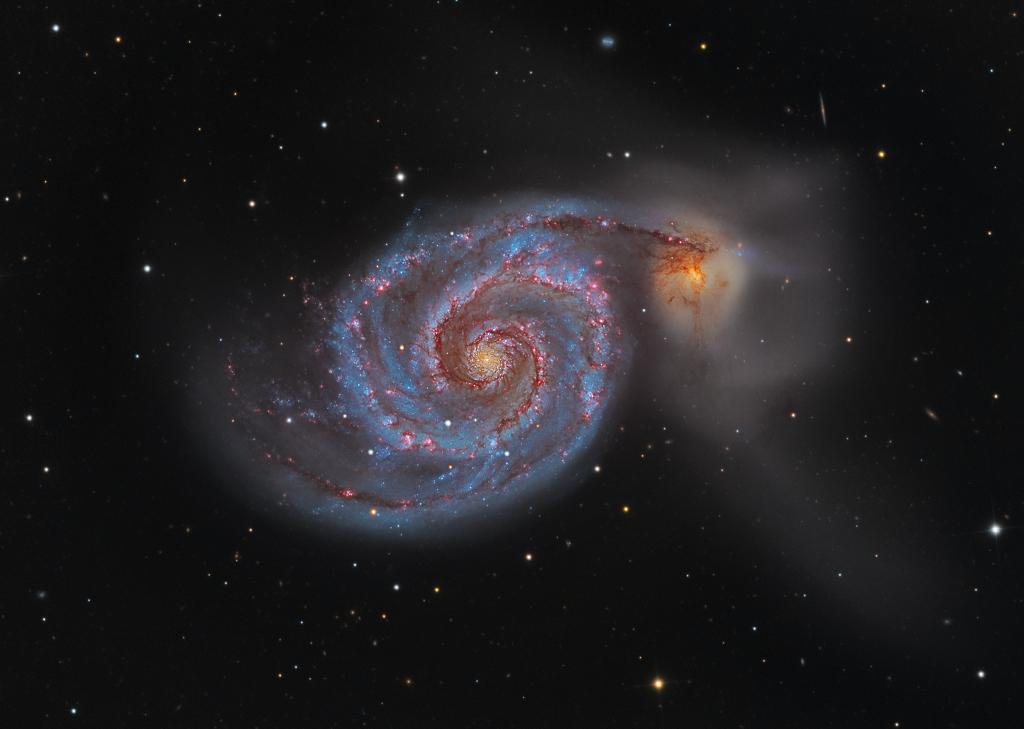 Photo d'une galaxie. 150502