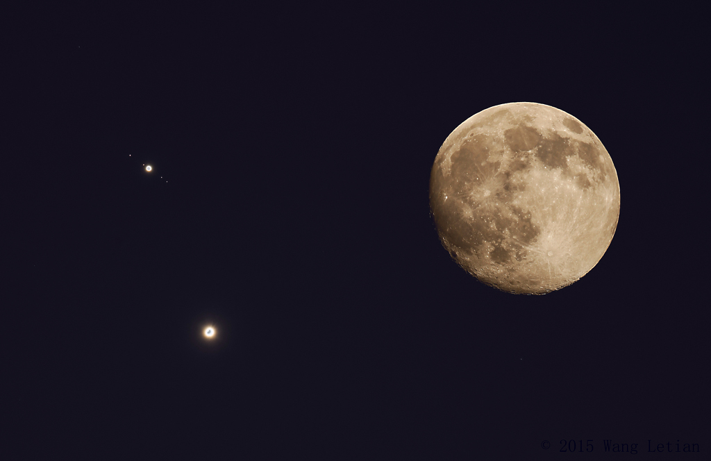 V�nus et Jupiter au plus proche