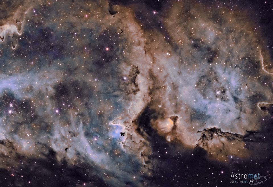 W5, l'âme de la formation d'étoiles
