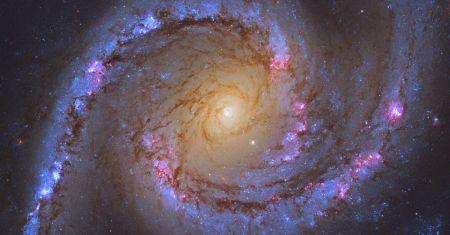 NGC 1566, la galaxie spirale de la danseuse espagnole
