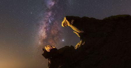 Jupiter engloutie par la Voie Lactée