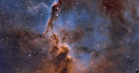 La nébuleuse de la Trompe d'éléphant dans la constellation de Céphée