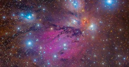 Nature morte de NGC2170, la nébuleuse de l'Ange