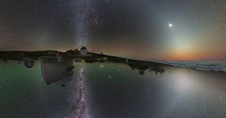 Le ciel de nuit des deux hémisphères