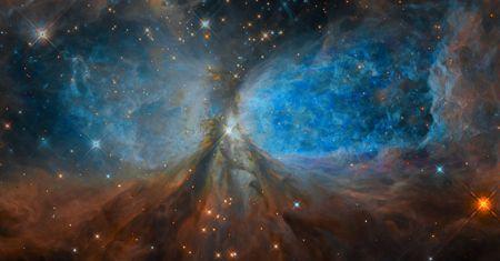 La région de formation d'étoiles S106