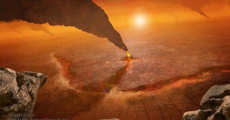 Les volcans de Vénus