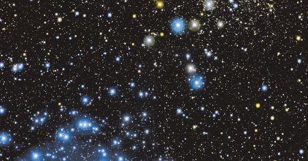 Les amas d'étoiles M35 et NGC 2158