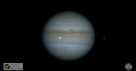 Impact en direct sur Jupiter