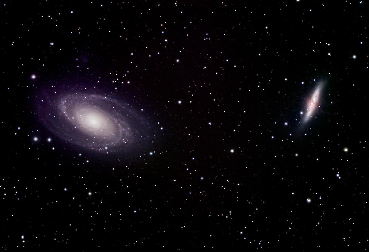 Guerre des galaxies : M81 versus M82