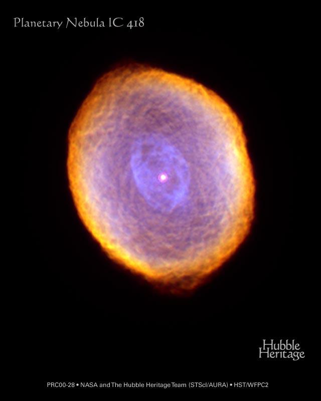 IC418 : la nébuleuse du Spirographe