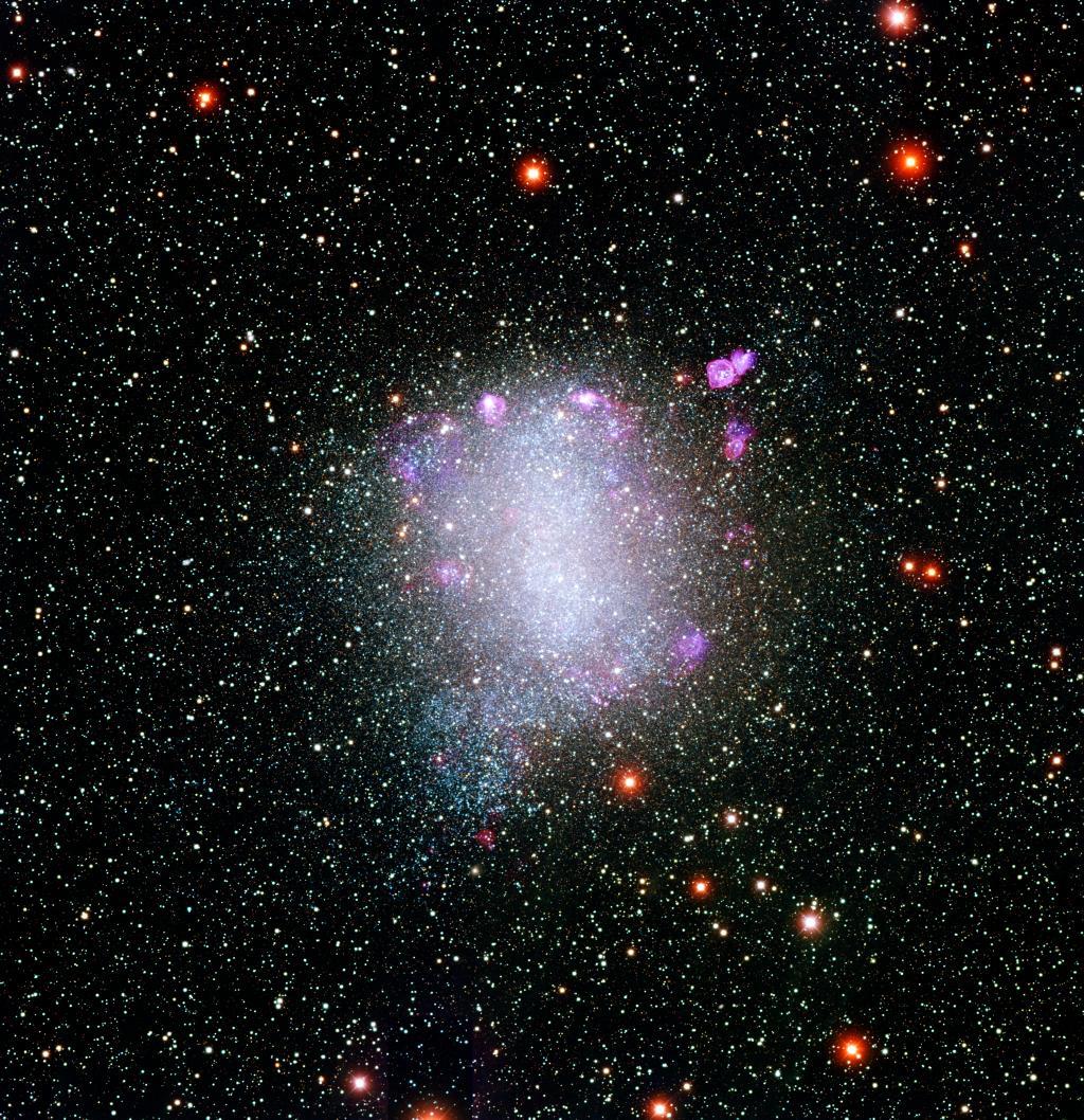 Le groupe de galaxies local NGC6822