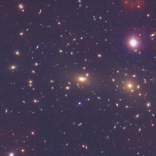 L\'amas de galaxies de Coma