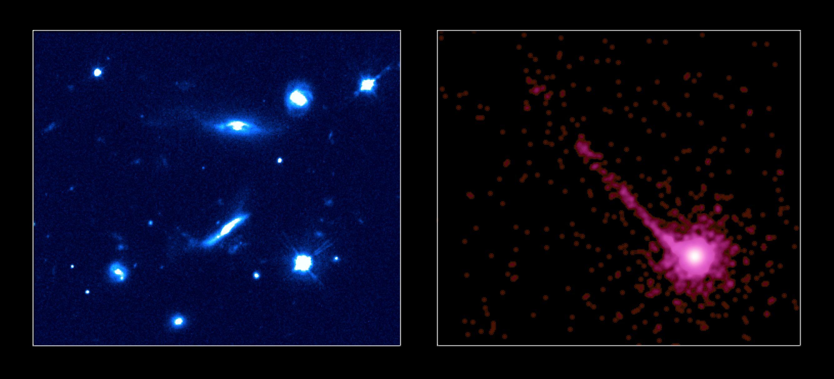 PKS1127-145: Vue d\'un quasar